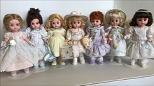 """8"""" DAYS OF THE WEEK - 7 doll set"""