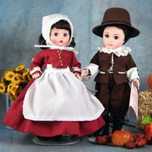 "8"" PILGRIM BOY & PILGRIM GIRL"