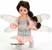 "8"" PINK SPARKLE DRAGONFLY FAIRY"