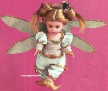 "8"" PURPLE SPARKLE DRAGONFLY FAIRY"