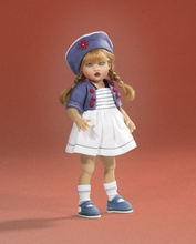 "7.5"" RILEY AHOY DOLL"