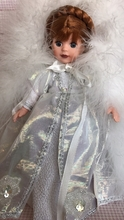 """8"""" SNOW QUEEN - dressed in white - read details"""