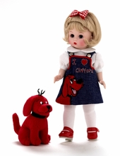 "8"" WENDY LOVES CLIFFORD THE BIG RED DOG"