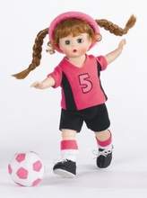"8"" WENDY PLAYS SOCCER"