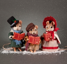 DECK THE HALLS! - RJW - three mouse set*