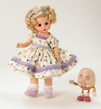 Madame Alexander Nursery Rhymes Collection - click here
