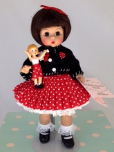 "8"" MADC FALL FRIENDSHIP LUNCHEON SOUVENIR DOLL"