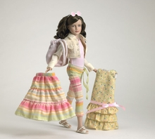 "12"" SUMMER VACATION GIFT SET - doll plus outfits"