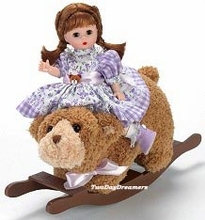ROCKING BEAR DOLL
