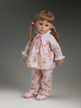 "SLEEPY TIME - outfit set for 18"" doll - incl Teddy Bear"