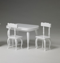 """TABLE and CHAIRS - for 8"""" Tiny Betsy, etc."""
