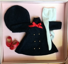 TRAVEL TIME COAT - outfit & accessories box set
