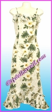 Hawaiian Spaghetti Dress - 449Natural