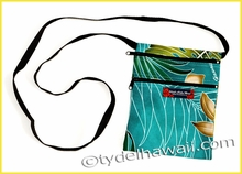 Mobile Phone Cross Body Travel Bag - 501Teal