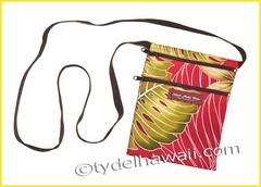 Mobile Phone Cross Body Travel Bag - 503Red