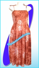 Aloha Beach Dress - 1421Mud