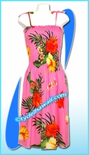 Pink Aloha Beach Dress - 2013