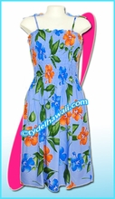 Blue Aloha Beach Dress - 2019Blue