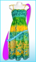 Aloha Beach Dress - 6010Green