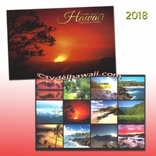 The Big Island 2018 Hawai'i Calendar