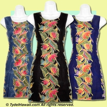 Bird of Paradise Panel hawaiian Tank Dress