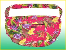 Large Hawaiian Print Travel /Gym workout carry-on Bag - 121Pink