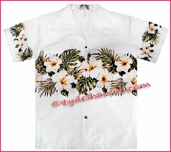 Boy Hawaiian Shirt - 430White