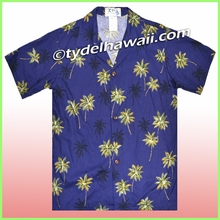 Boy Hawaiian Shirt - 435Navy