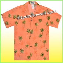 Boy Hawaiian Shirt - 435Orange