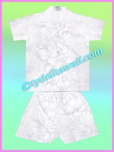 Boy Cabana Set- 213White