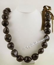 Brown Kukui Nut Necklace