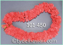 Carnation Single Lei - Red