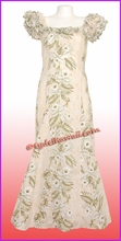 Classic Aloha Dress - 456Cream