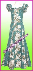 Classic Aloha Dress - 456Green