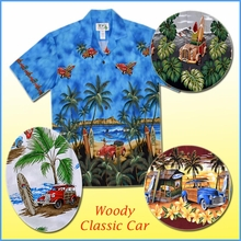 Classic Car Hawaiian Shirts
