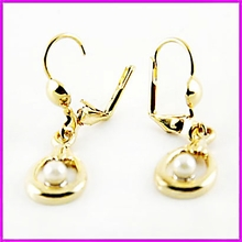 Dangling Freshwater Pearl Earrings