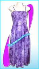 Aloha Beach Dress - 1423Purple