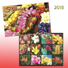 Flowers of Hawai'i 2018 Calendar
