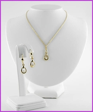 Freshwater Pearl Necklace & Earrings Set - 50% off
