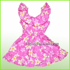 Girl Aloha Dress - 417Pink
