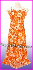 Girl Halau Dress - 342Orange