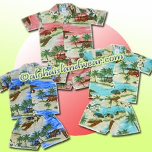Hawaiian Boy Cabana Set - 454