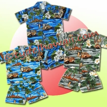 Hawaiian Boy Cabana Set - 404