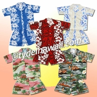 Hawaiian Boy Cabana Sets