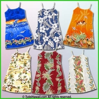 Hawaiian Girl Sun Dress - For Children