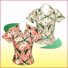 Hawaiian Lady Blouse - 395
