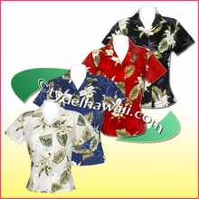 Hawaiian Lady Blouse - 413