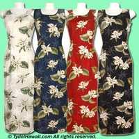 Hawaiian Long Tank Dress - 413