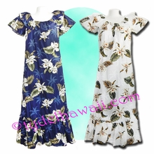 Hawaiian Muumuu Full Length - 413