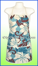 Hawaiian Print Apron - 601Blue